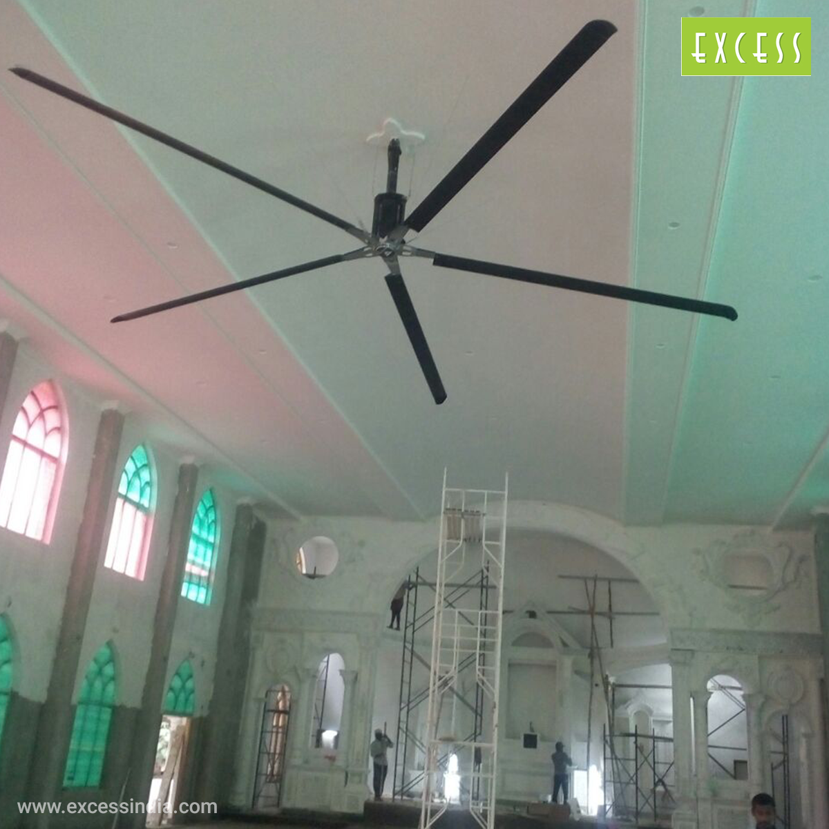 Church HVLS Fans - Excess India