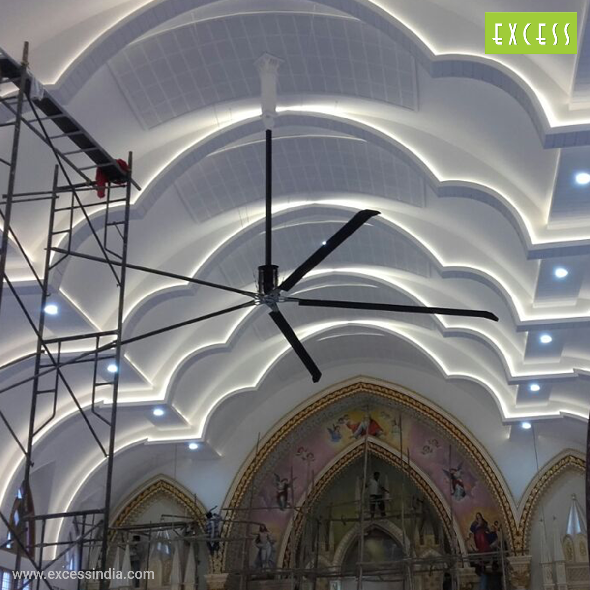 Church Big HVLS Fans - Excess India