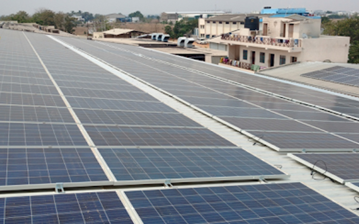 Rooftop Solar Plant - Excess Renew Tech Pvt Ltd
