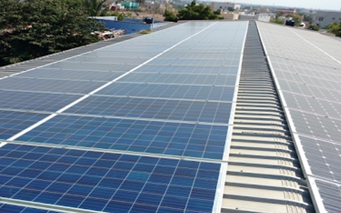 Rooftop Solar Power Plant - Excess Renew Tech Pvt Ltd