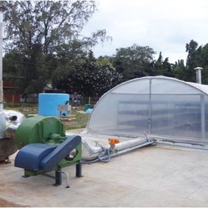 Solar Tunnel Dryer with Heat Pump