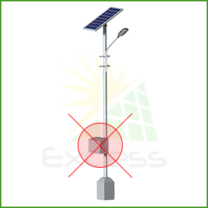 Solar Street Light - Zonstreet solution